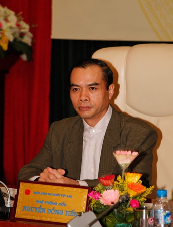 Phó Thống đốc NHNN Nguyễn Đồng Tiến (ảnh: AH).