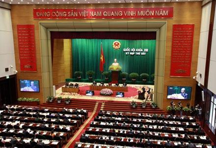 Kỳ họp này, Quốc hội sẽ thông qua nhiều luật liên quan tới kinh tế (ảnh: Việt Hưng).
