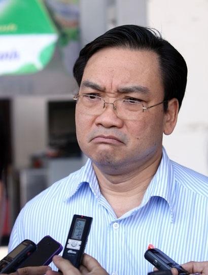 Phó Thủ tướng Hoàng Trung Hải.