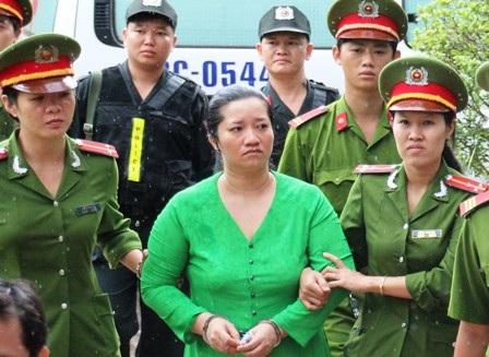 Bị cáo Lê Thị Hường, người gây ra 2 vụ án chấn động tỉnh Bà Rịa - Vũng Tàu