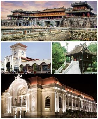 100 công trình trăm tuổi nổi tiếng ở Việt Nam