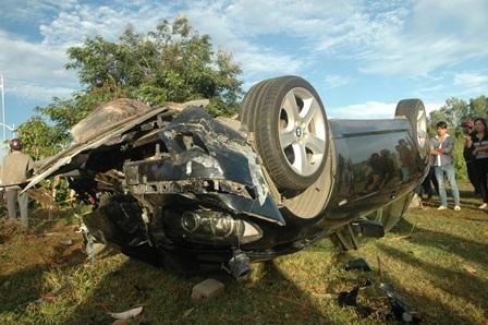 Công an tỉnh BR-VT đang điều tra về biển số chiếc xe BMW gây ra tai nạn