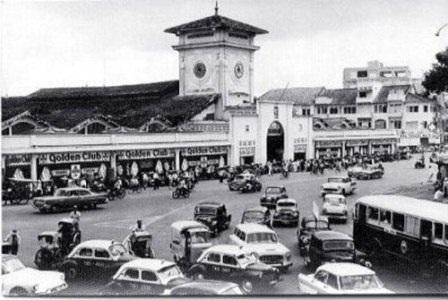 Bến Thành xưa đã là trung tâm thương mại sầm uất của Sài Gòn - Gia Định.