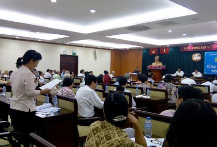 Nhiều cử tri băn khoăn về một số nhân sự trước Đại hội Đảng toàn quốc