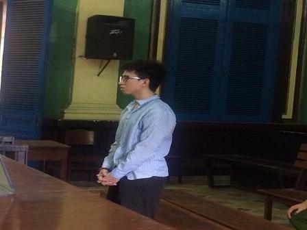Bị cáo Dũng tại phiên tòa sơ thẩm