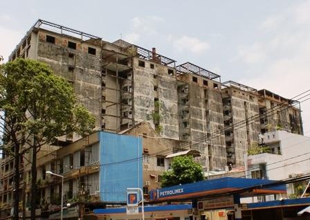 Những chung cư cũ góp phần làm mất mỹ quan Hòn ngọc Viễn Đông