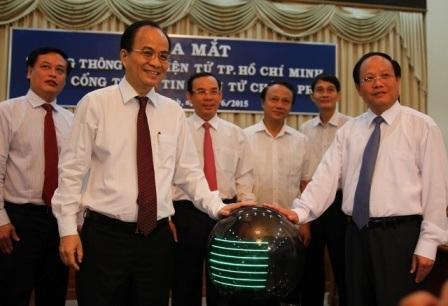 Trang thông tin điện tử TPHCM trên Cổng thông tin điện tử Chính phủ chính thức hoạt động