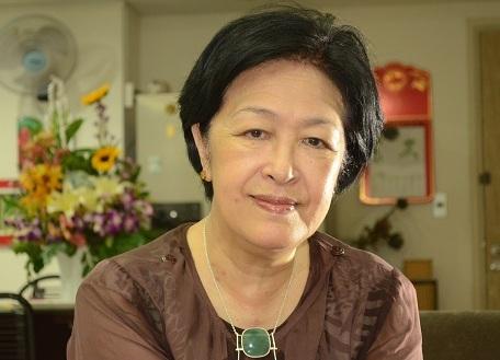 Bà Tôn Nữ Thị Ninh trong buổi trò chuyện với PV Dân trí