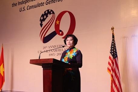 Bà Nguyễn Thị Hồng đánh giá cao mối quan hệ tốt đẹp giữa hai quốc gia