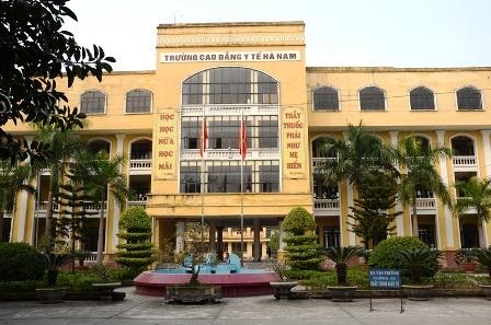 Trường Cao đẳng Y tế Hà Nam.