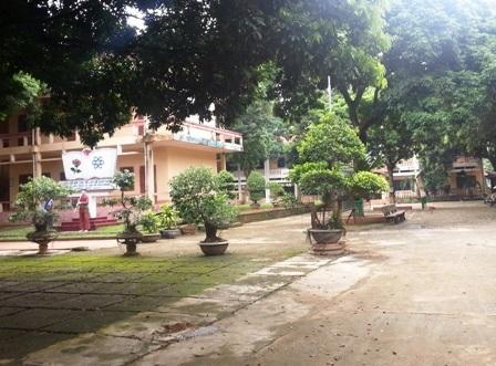 Sai phạm xảy ra trong nhiều năm tại trường THCS dân tộc nội trú huyện Ngọc Lặc.