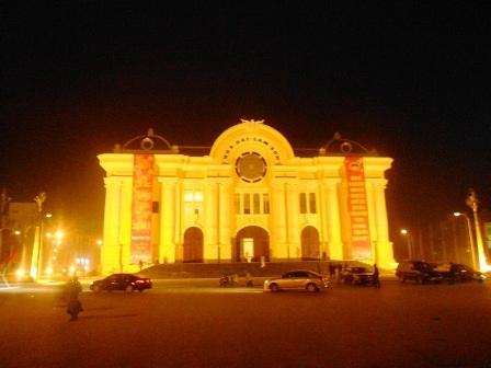 Nhà hát Lam Sơn đã hoàn thành để chào mừng năm mới 2015.