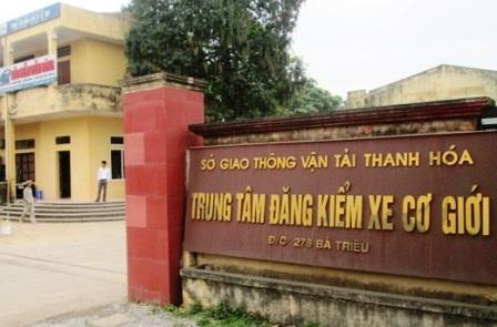 Nhiều cán bộ Trung tâm đăng kiểm Thanh Hóa bị kỷ luật.