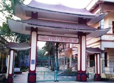 Trường THPT dân tộc nội trú tỉnh Thanh Hóa.