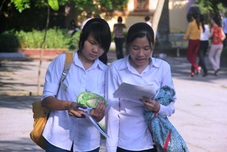 Năm nay, học sinh THPT chỉ thi một kỳ thi duy nhất.