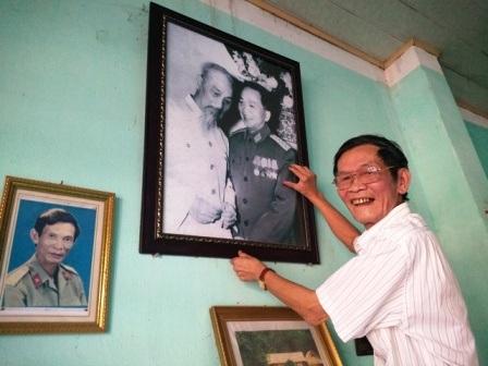 Bác Hồ và Đại tướng Võ Nguyên Giáp là hai thần tượng lớn của cựu binh Đỗ Chi.