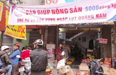Dưa hấu nghĩa tình từ miền Trung ra Hà Nội