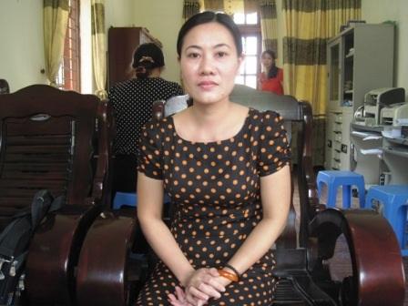 Cô giáo Nguyễn Thị Mai Hương - Chủ nhiệm lớp chia sẻ về cậu học sinh yêu quý Nguyễn Đình Hoàng.