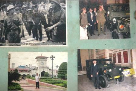 Một số hình ảnh kỷ niệm của ông Đào Ngọc Vân (ảnh do nhân vật cung cấp).