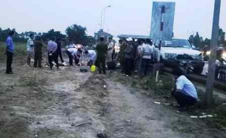 Cơ quan pháp y khám nghiệm tử thi làm rõ nguyên nhân vụ tai nạn.