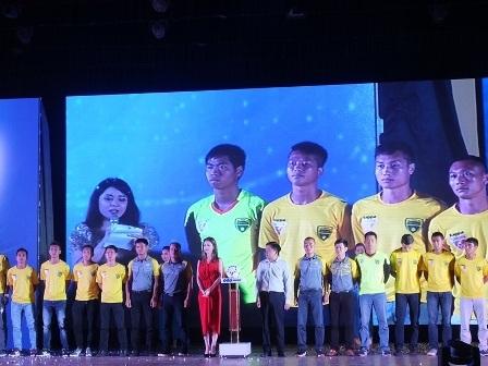 Chính thức ra mắt nhà tài trợ mới của bóng đá xứ Thanh.