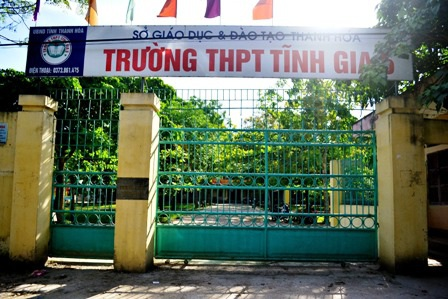 Hàng chục GV Trường THPT Tĩnh Gia 5 trước nguy cơ thất nghiệp.