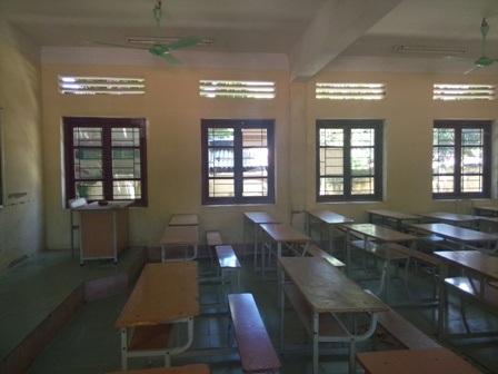 Trường THPT Quan Hóa đã sẵn sàng tất cả cho kỳ thi diễn ra.