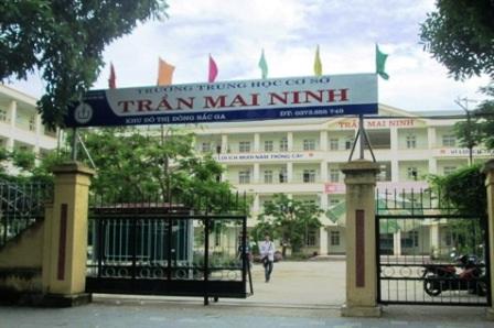 Trường THCS Trần Mai Ninh (TP. Thanh Hóa) luôn có sức nóng trước mỗi kỳ tuyển sinh.