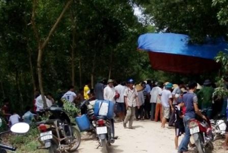 Vụ tai nạn khiến 2 bố con thương vong.