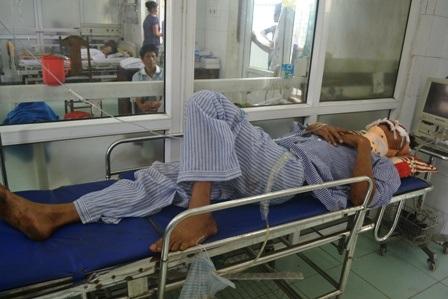 Những nạn nhân bị thương đang được điều trị tích cực.