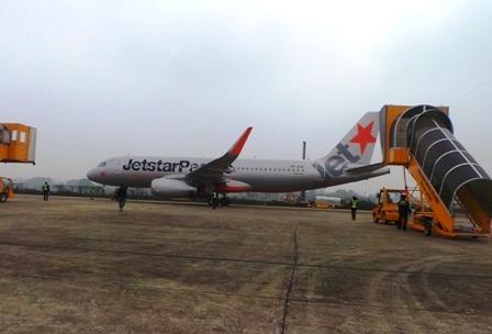 Đây là đường bay thứ hai đến Thanh Hóa của Jetstar Pacific.