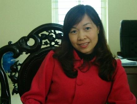 Cô Nghiêm Thị Huyền - giáo viên chủ nhiệm lớp 10 chuyên Sử, Trường THPT Chuyên Lam Sơn