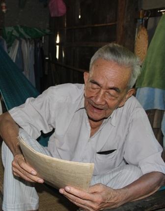 Ông Thiêm đã ở tuổi 90 vẫn ngày ngày chờ đợi cơ quan chức năng giải quyết vụ kiện đòi đất