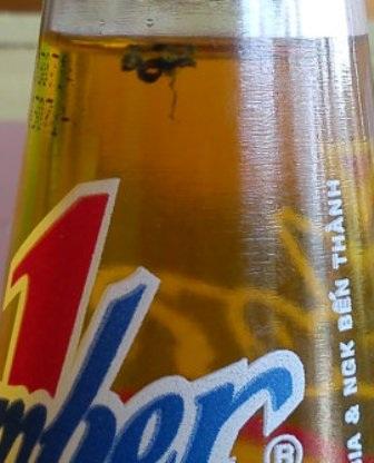 Chai nước ngọt chứ vật thể lạ của anh Định (ảnh minh họa)