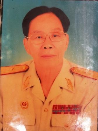 Chân dung Thiếu tướng Nguyễn Hữu Vị
