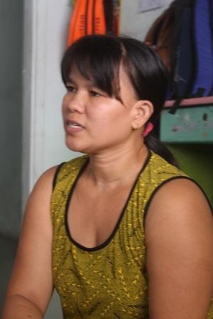 Bà Loan cho biết sau khi sự việc xảy ra cuộc sống gia đình bị đảo lộn.