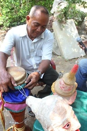 Gia đình nghệ nhân Thạch Ca Ri No đã có 4 thế hệ gìn giữ văn hóa của dân tộc