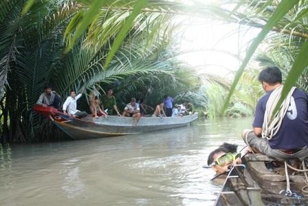 Đoạn sông nơi xảy ra tai nạn