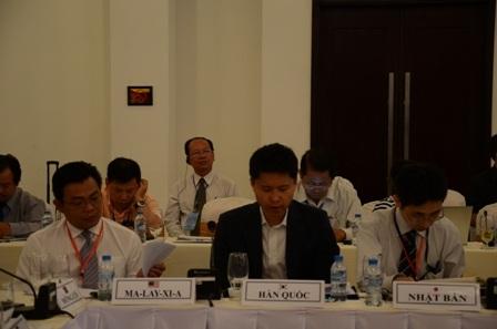 Đại biểu quốc tế tham dự hội thảo
