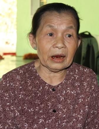 Bà Đoàn Thị Vững Tôi kh