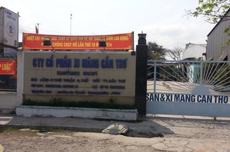 Trụ sở Cty Cổ phần Xi măng và Khoáng sản Cần Thơ