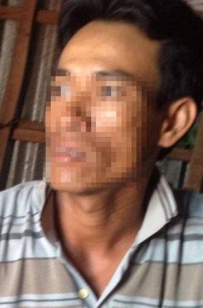 Anh Danh Lang- một trong người dân nghèo đã bán thận nhưng hiện này vẫn nghèo