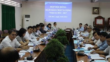 Hoạt động của Hội đồng Đảm bảo chất lượng trường ĐH Cần Thơ.