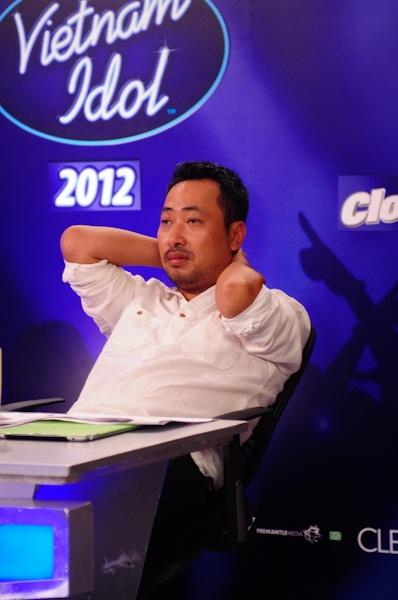 Đạo diễn Quang Dũng làm giám khảo cho cuộc thi Vietnam Idol