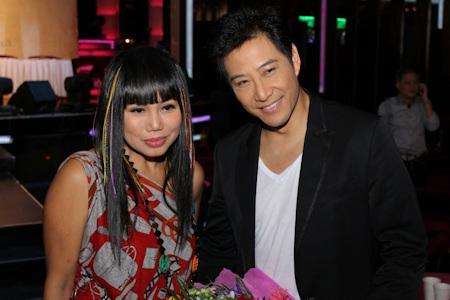 Vợ chồng Linda Trang Đài và Tommy Ngô