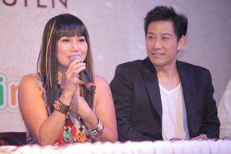 Vợ chồng Linda Trang Đài
