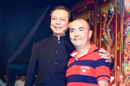 Thanh Hoàng và người đàn em Quốc Thuận