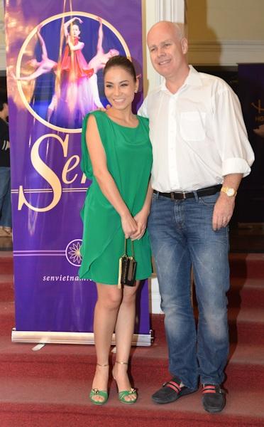 Vợ chồng Thu Minh