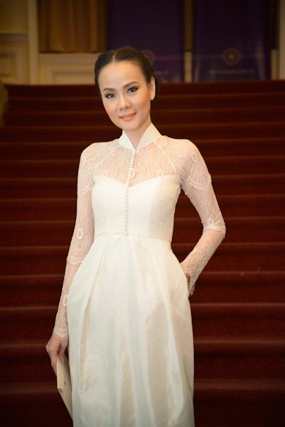 Dương Yến Ngọc và doanh nhân Hùng Cửu Long cũng là khách mời của chương trình