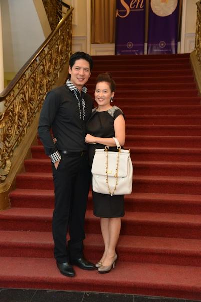 Vợ chồng siêu mẫu Bình Minh